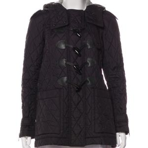 Burberry Quilt hooded Jacket